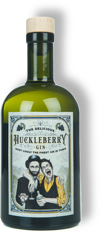 Huckleberry Gin – Blueberry-Gin with 100% friendship